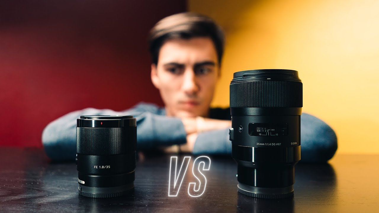 Sony 35mm f1.8 vs Sigma 35mm f1.4 | Best 35mm Lens for Sony