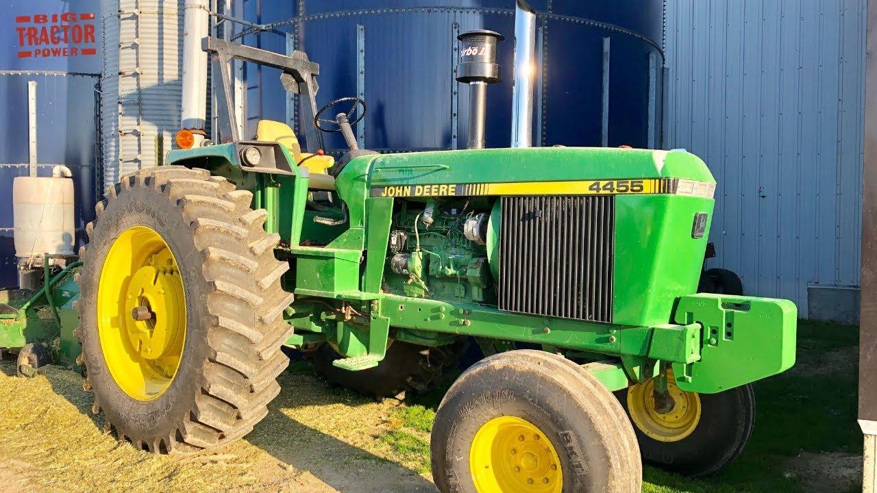 John Deere 4455 Open Station Tractor Youtube