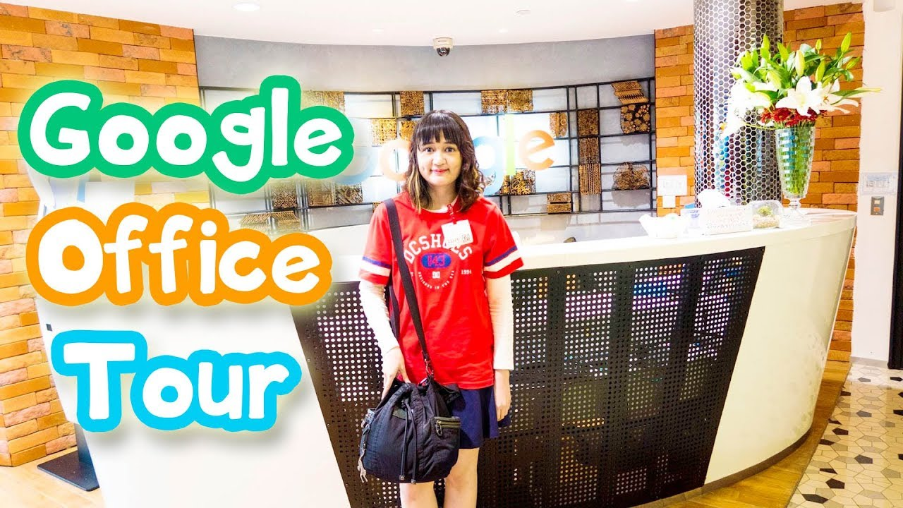 google office tour. google office tour indonesia vlog google office tour