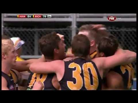 Nerves of steel - Riewoldt for the win - AFL