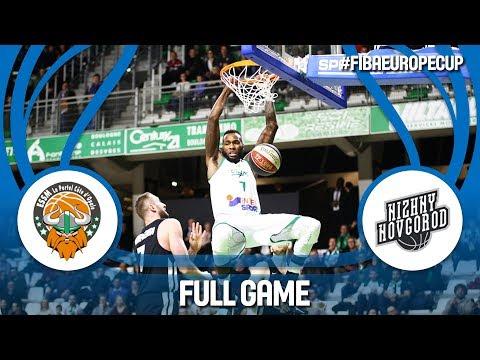 ESSM Le Portel (FRA) v Nizhny Novgorod (RUS) - Full Game - FIBA Europe Cup 2017-18