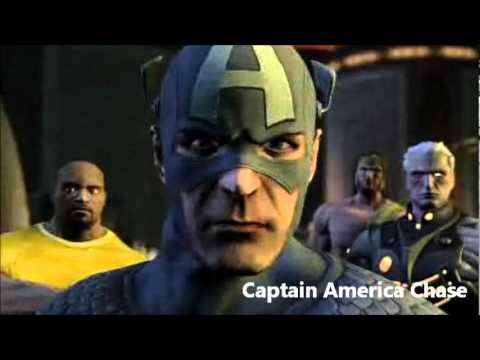 Marvel Ultimate Alliance 2 OST 812 - Captain America Chase