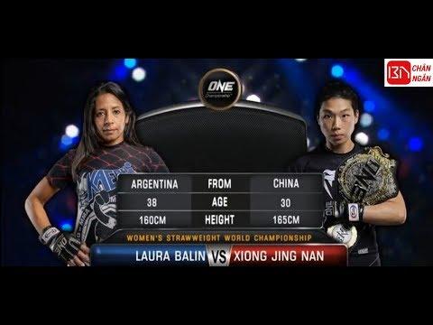 Laura Balin vs Xiong Jing Nan : PINNACLE OF POWER: ONE CHAMPIONSHIP 23/6/2018