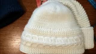 Вязаные шапки - обзор моих шапок