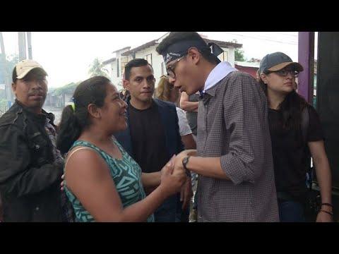Lesther Alemán: un héroe juvenil en protestas de Nicaragua
