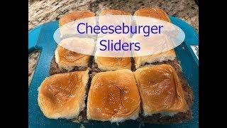Recipe: Cheeseburger Sliders