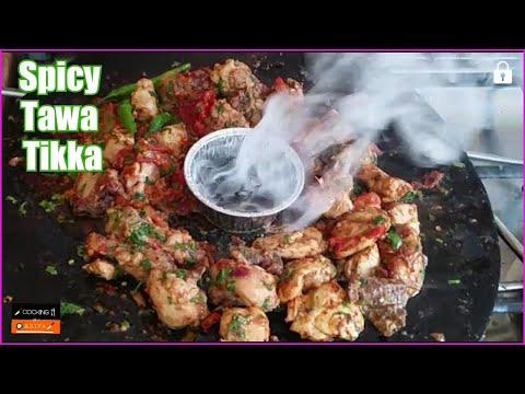 Chicken Tawa Boti Recipe | Tasty Tikka Boti | Smoked Tikka without Oven by (COOKING WITH ASIFA) HD