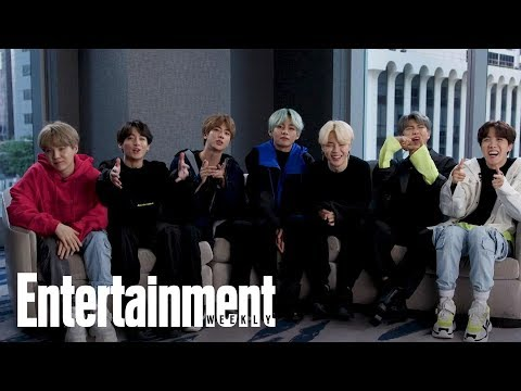 BTS: The K-pop Group Reveal Their Go-To Karaoke Songs, First Concerts & More | Entertainment Weekly