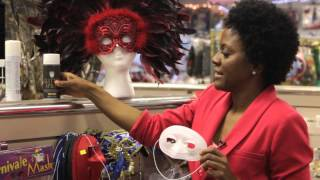 How to Make Cheap Opera Masks : Theater Tips & Costuming