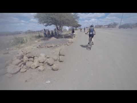 Family cycling holiday clips from Kenya and Tanzania 2016