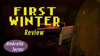 First Winter - PC Game Review - UT