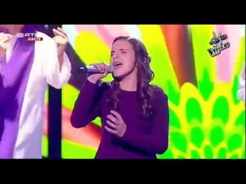 Ana Silva - Let it be - Gala - The Voice Kids
