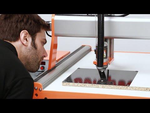 Make Precision Carbon Fibre Parts Using A Desktop CNC Router