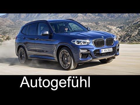 All-new BMW X3 M40 & 30d Preview 2018 - Autogefühl