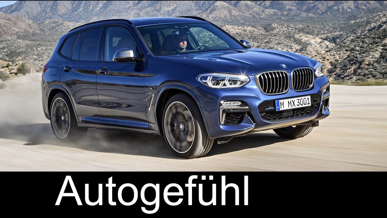 all new bmw x3 m40 30d preview 2018 autogef hl youtube. Black Bedroom Furniture Sets. Home Design Ideas