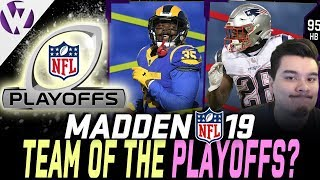 What EA Could Have Released...TEAM OF THE PLAYOFFS! - Madden 19 Ultimate Team