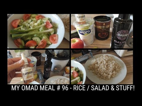 OMAD - ONE MEAL A DAY DIET - WHAT I ATE TODAY -  #96 -BITS AND BOBS