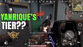 YANRIQUE's TIER REVEALED?!   FPP Solo VS Squad   PUBG Mobile