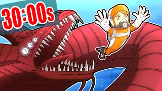 subnautica but every 30 seconds A RANDOM DISASTER HAPPENS (chaos)