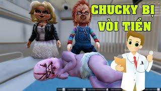 GTA 5 - Con búp bê ma Chucky đi bệnh viện bị bác sĩ vòi tiền   GHTG