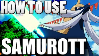 Starter Pokemon Guide: Samurott! Samurott Moveset - Pokemon Omega Ruby and Alpha Sapphire / X&Y