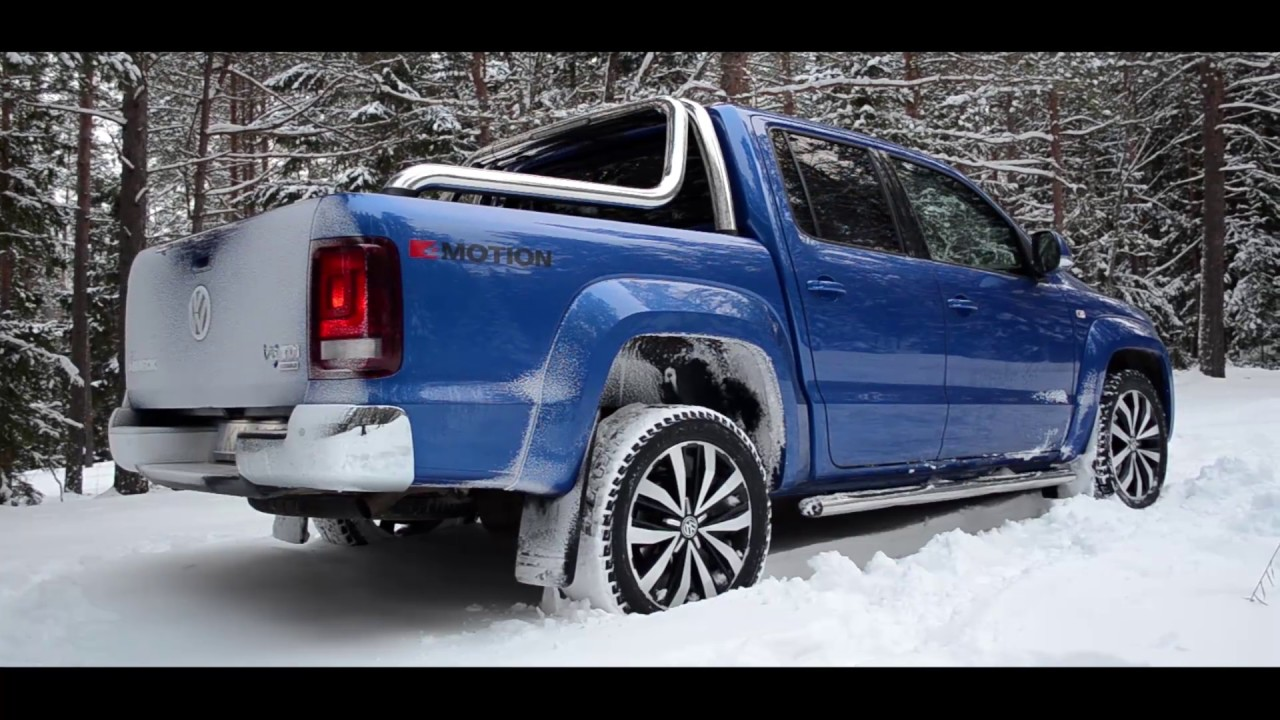 volkswagen amarok v6 tdi in snow youtube. Black Bedroom Furniture Sets. Home Design Ideas