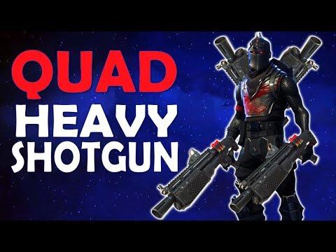 QUAD HEAVY SHOTGUN CHAOS | HIGH KILL GAME - (Fortnite Battle Royale)