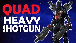 QUAD HEAVY SHOTGUN CHAOS | HIGH KILL GAME - (Fortnite Battle Royale)