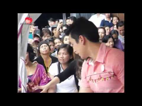 [vietsub] Yadech sell goods for merit at CH3 market 03.10.13 [NYVNFanpage]
