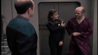 """Deanna Troi in Voyager - """"Life Line"""" Tough Counselling job! thumbnail"""