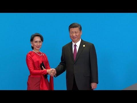 Daw Aung San Suu Kyi at One Belt One Road Summit