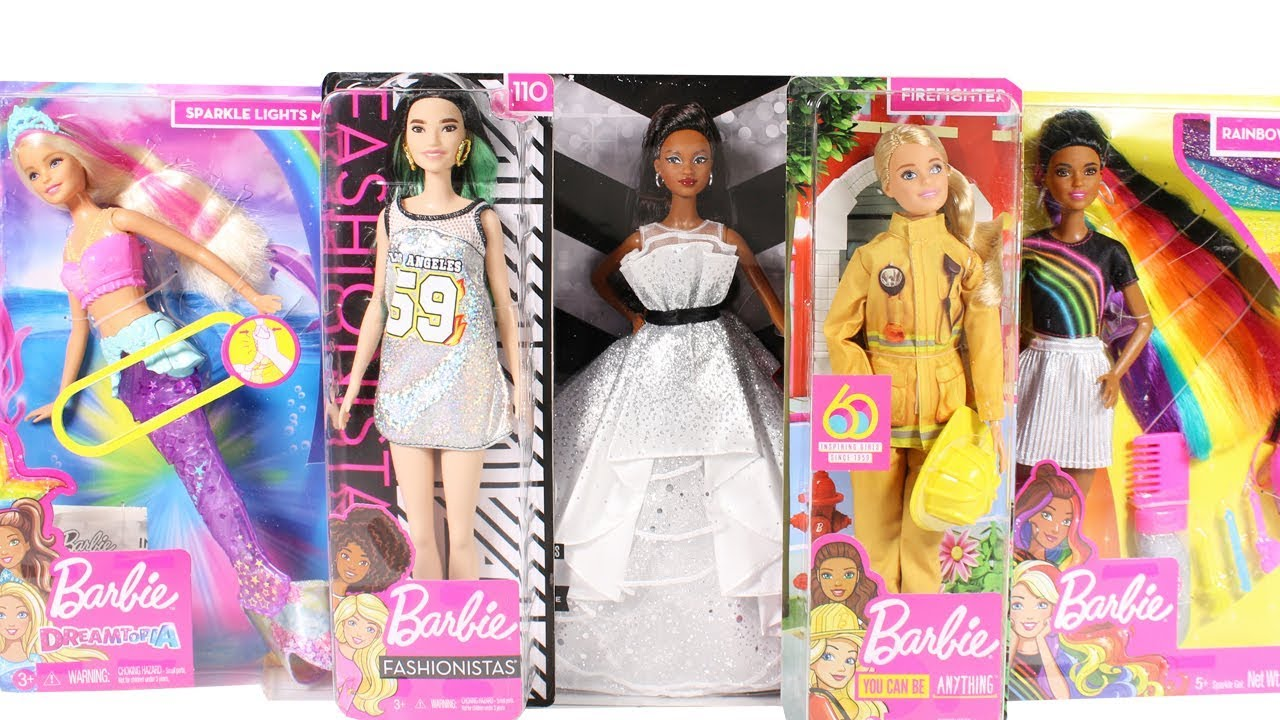 Barbie Princess Doll Rainbow Fashion Sonstige