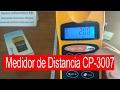 Como usar Medidor de Distancia por Ultrasonidos Digital con Laser CP-3007