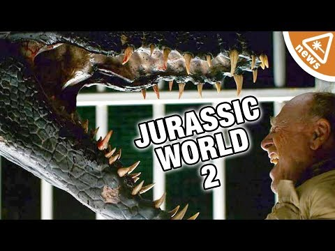 First Look at Jurassic World 2's Mysterious Villain! (Nerdist News w/ Amy Vorpahl)