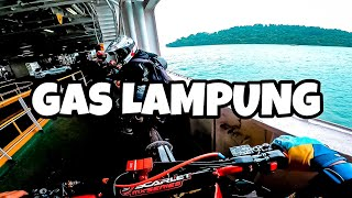 GAS LAMPUNG CRF Supermoto Bore Up