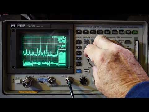 #180 HP8921A radio test set