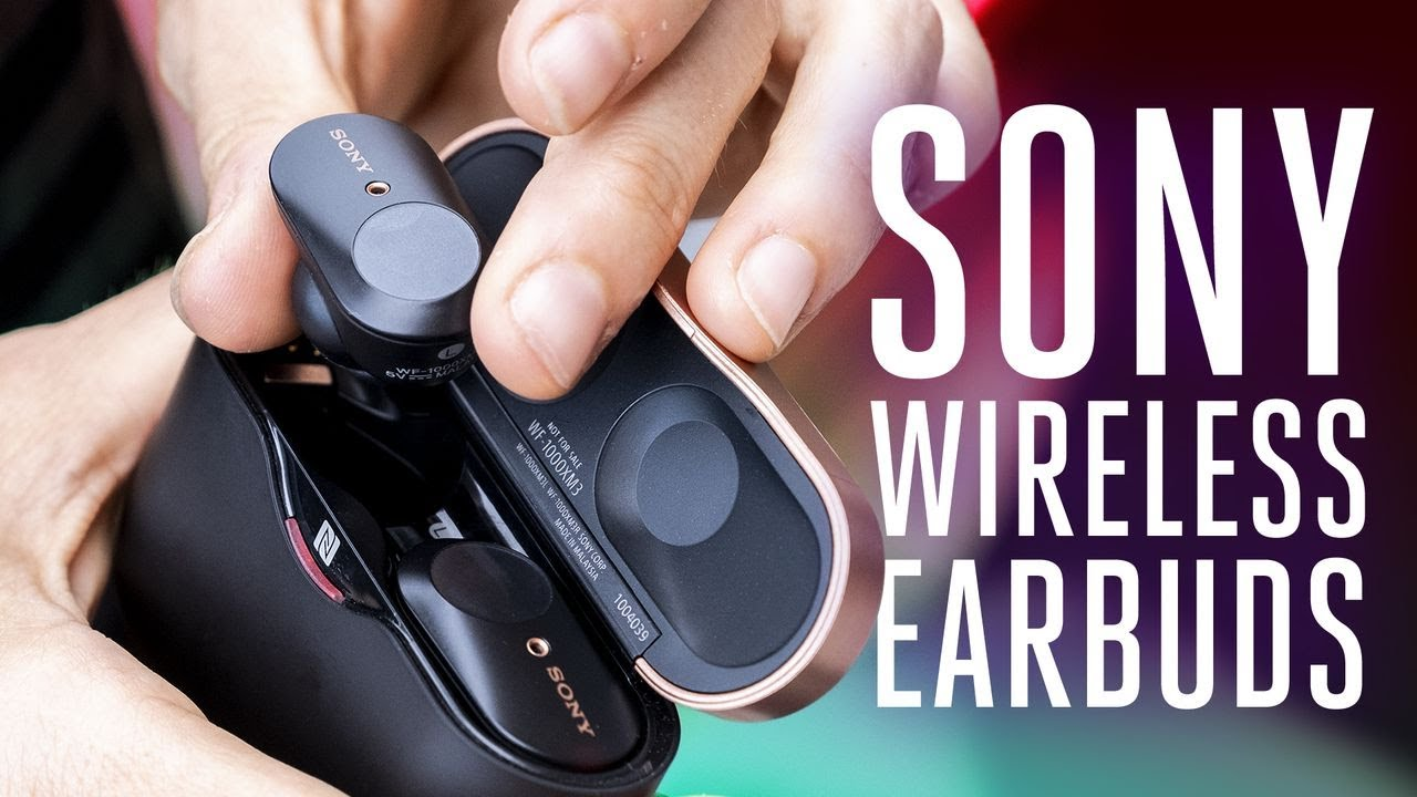 Sony WF-1000XM3 noise-canceling earbuds review - The Verge