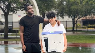 Surprising A Kid Who Gets Bullied With A PS5 (EMOTIONAL)