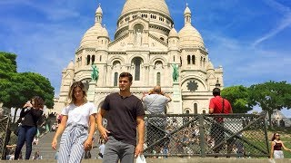 PARIS WALK | Sacré-Coeur Basilica in Montmartre | France