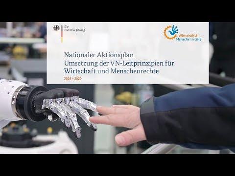 Nationaler Aktionsplan Wirtschaft Und Menschenrechte
