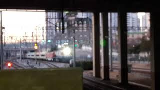 서울발 김천행 E-train 왕십리역 통과영상