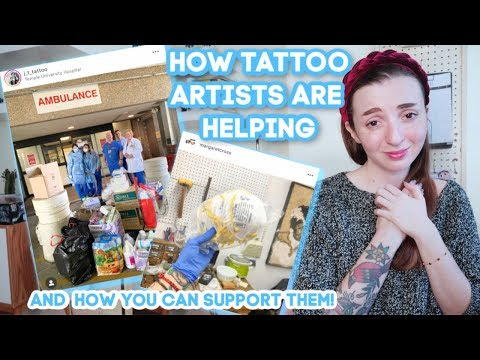 How Tattoo Artists Are Helping Flattening The Curve (& How Collectors Can Help Too!)