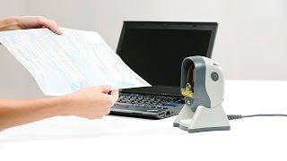 видео Стационарный сканер штрих кода Argox AS-8310