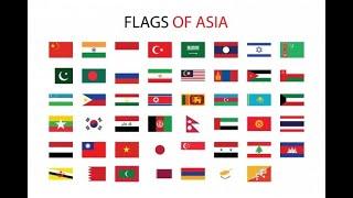 Flags of the World: Asia - Banderas de Mundo: Asia