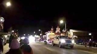 Pine River Christmas Parade of lights 2007