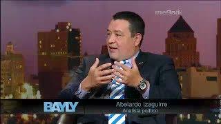 Jaime Bayly entrevista a Abelardo Izaguirre.