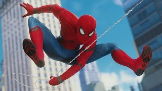 Marvel's Spider Man (PS4) - Homecoming Suit +Spider Bro Ability Free Roam Gameplay | PS4 Pro (4k)