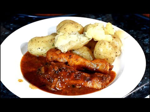 SIMPLE BAKE CHICKEN WITH NEW POTATOES ... Chef Ricardo Food News