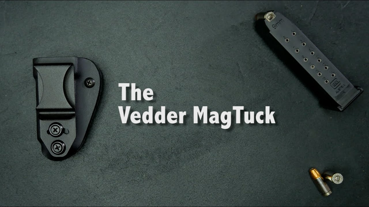 Concealed Carry Magazine Holder Vedder MagTuck Best Concealed Carry Magazine Holster YouTube 22