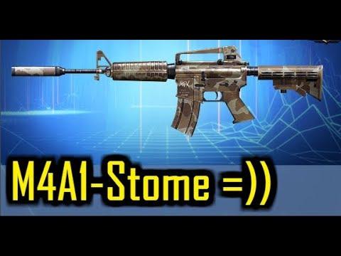 """M4A1 S - Vũ Khí Cổ Với Thiết Kế Quá Tinh Xảo =)) """" TRUY KICH VN """""""